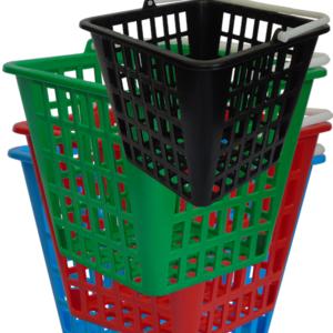 Dispenser baskets