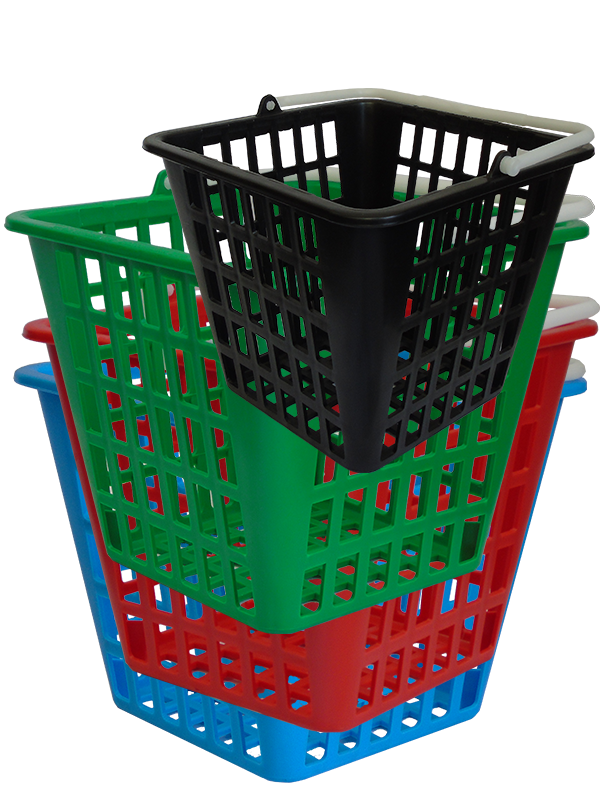 Dispenser baskets