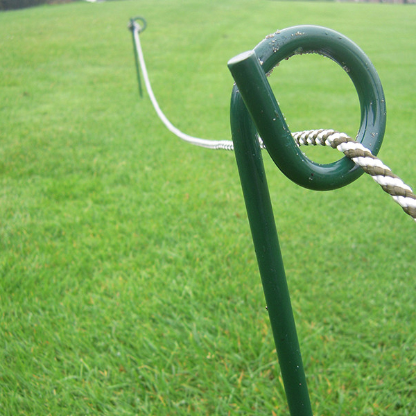 Barrier Hoops and rope stakes