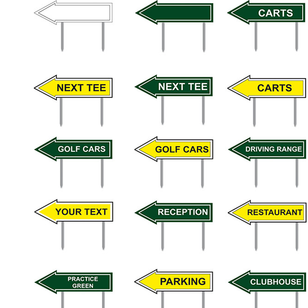 Directional arrow markers